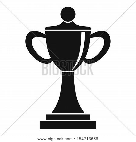 Championship cup icon. Simple illustration of championship cup vector icon for web