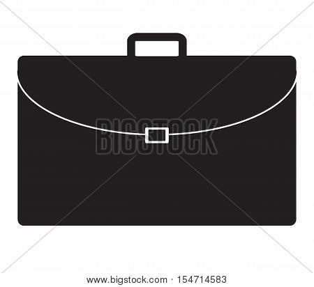 briefcase icon on white background. briefcase symbol.