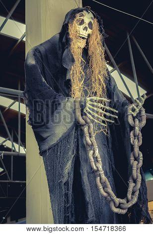 Bones Halloween Day