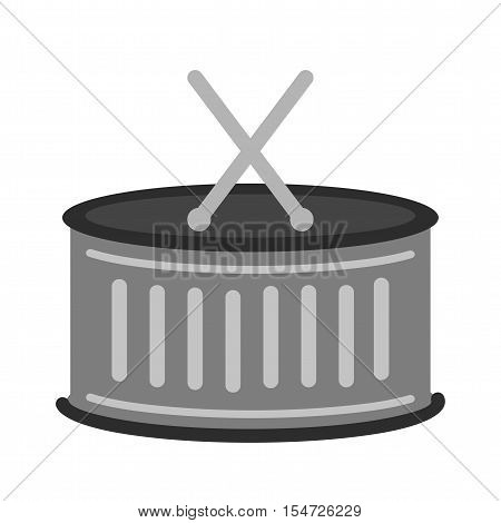 Circus, drum, sticks icon vector image. Can also be used for circus. Suitable for web apps, mobile apps and print media.