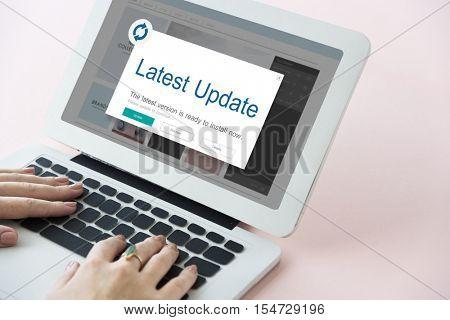 Application Upgrade Icon Concept