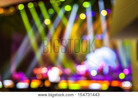 stage light,blur background