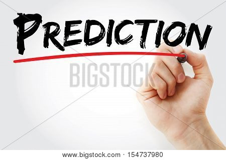 Hand Writing Prediction With Marker