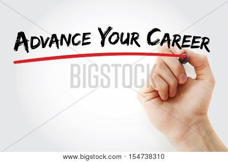 Hand Writing Advance Your Career