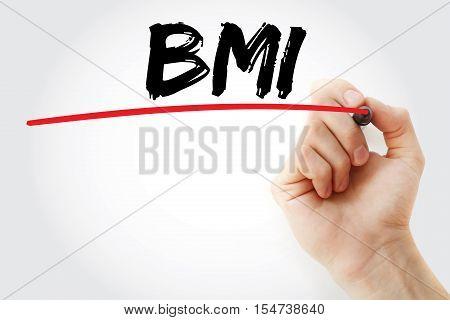 Hand Writing Bmi - Body Mass Index
