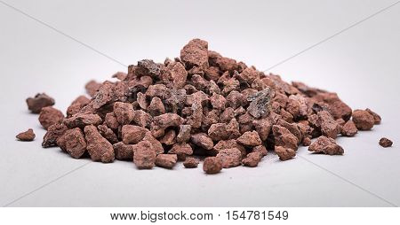 Heap of Natural Iron Ore