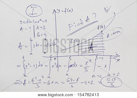 Differential calculus and advanced example of mathematical analysis