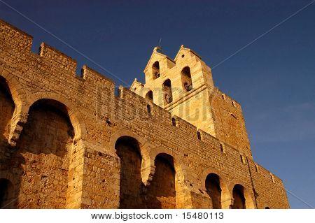 The Church Of Les Saintes Maries De La Mere - Camargue - France