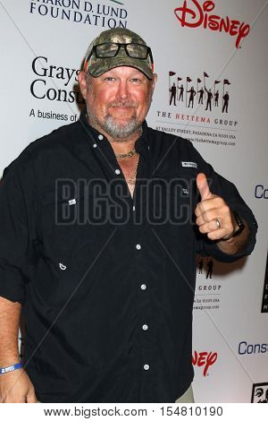 LOS ANGELES - NOV 1:  Daniel Whitney, aka Larry the Cable Guy at the The Walt Disney Family Museum Gala at Disney's Grand Californian Hotel & Spa on November 1, 2016 in Anaheim, CA