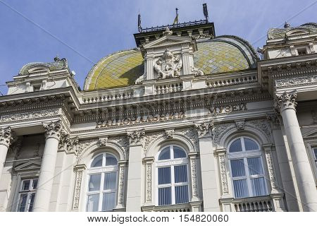 Lviv, Ukraine - October 02, 2016: Andriy Sheptytsky National Museum In Lviv, Ukraine. It Was Founded