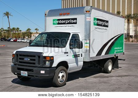 Enterprise Rental Truck