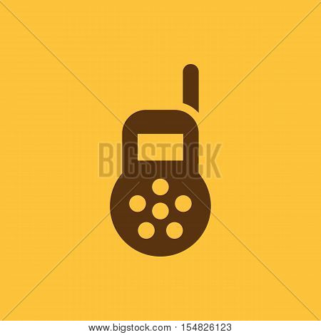 Baby monitor icon. design. Radio, Baby monitor symbol. web. graphic. AI. app. logo. object. flat. image. sign. eps. art. picture - stock vector