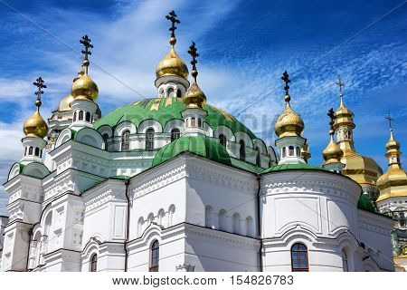 Kiev, Ukraine. Church building, Pechersk Lavra Monastery