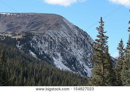 The mountains of the Continental Divide by Breckenridge Colorado