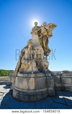 Angouleme, France. Statue Of Lazare Carnot (1753 - 1823)