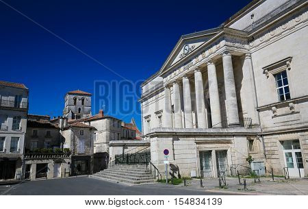 Palace Of Justice Of Angouleme, France.