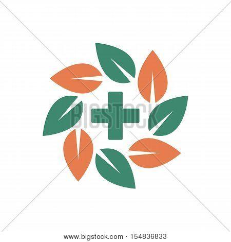 Pharmacy Logo Template Design Vector. Pharmaceutical Symbol