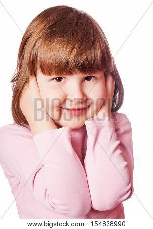 Girl Covering Ears