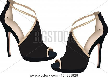 black female shoes black shoes tall female ceremony