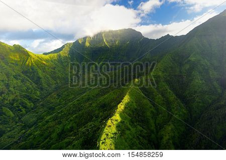 Mount Waialeale Known As The Wettest Spot On Earth