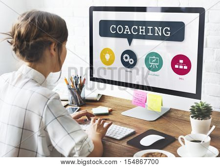 Coaching Training Performance Learning Practice Concept