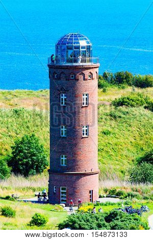 The Lighthouse on Ruegen at Kap Arcona 2