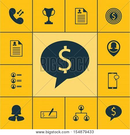 Set Of Human Resources Icons On Business Goal, Tournament And Job Applicants Topics. Editable Vector