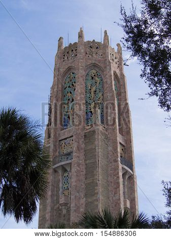 Bok Tower among the Trees in Lake Wales Florida