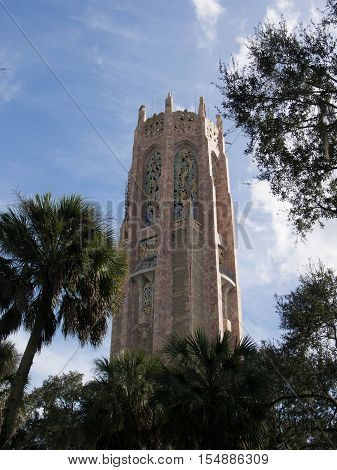 Bok Tower in the gardens in Lake Wales Florida