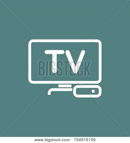 Tv Box / Iptv Vector Icon