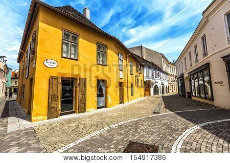 Beethoven House Baden  In Baden Bei Wein.