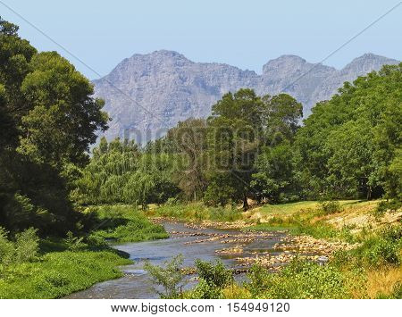 Berg River, Paarl, Western Cape, South Africa