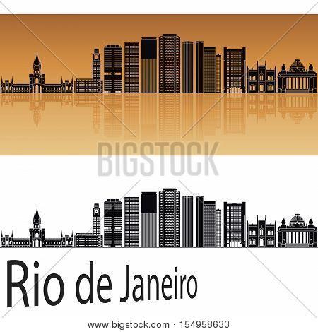 Rio De Janerio V2 Skyline