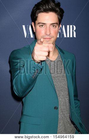 LOS ANGELES - NOV 2:  Ben Feldman at the NBC And Vanity Fair Toast the 2016-2017 TV Season at NeueHouse Hollywood on November 2, 2016 in Los Angeles, CA