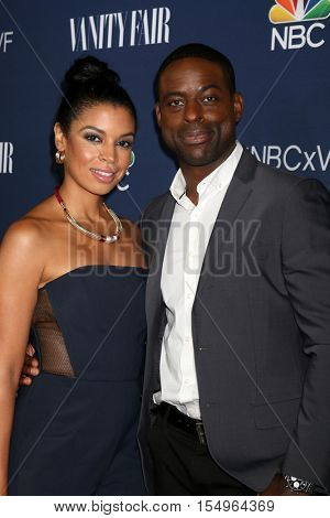 LOS ANGELES - NOV 2:  Susan Kelechi Watson, Sterling K Brown at the NBC And Vanity Fair Toast the 2016-2017 TV Season at NeueHouse Hollywood on November 2, 2016 in Los Angeles, CA