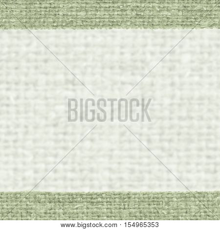 Textile weft, fabric patch, malachite canvas, gunny material abstract background