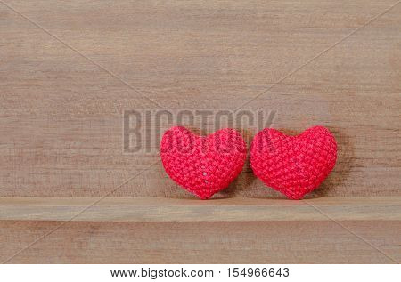 Heart Shaped Fabric