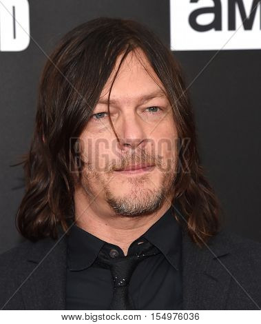 LOS ANGELES - OCT 23:  Norman Reedus arrives to the Special taping of