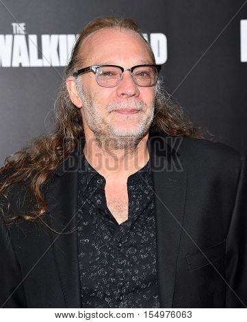 LOS ANGELES - OCT 23:  Gregory Nicotero arrives to the Special taping of