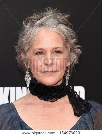 LOS ANGELES - OCT 23:  Melissa McBride arrives to the Special taping of