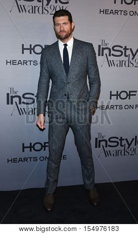 LOS ANGELES - OCT 24:  Billy Eichner arrives to the InStyle Awards 2016 on October 24, 2016 in Hollywood, CA
