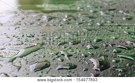 picture of a rain or waterdrops.season concept