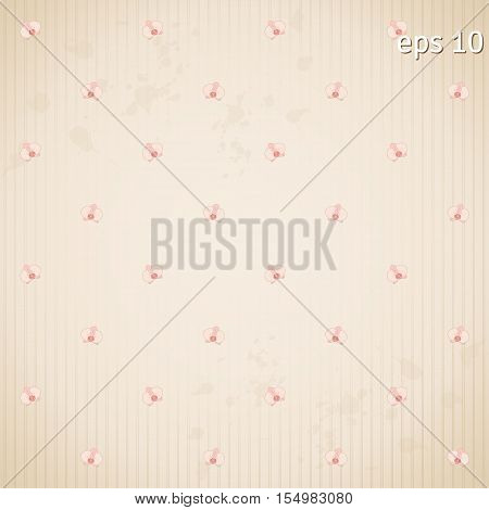Abstract seamless background. Blotches stripes and orchids.