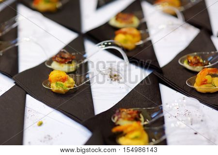 Assorted Tasty Finger Food