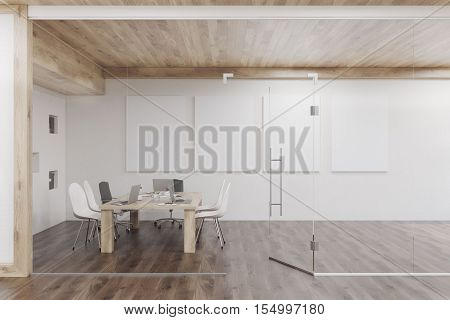 Conference Room With Four Posters