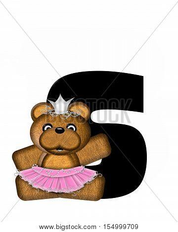 Alphabet Ballerina Princess S