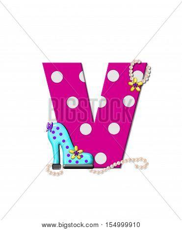 Alphabet Shoe Dive V