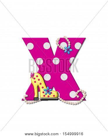 Alphabet Shoe Dive X