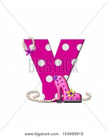 Alphabet Shoe Dive Y