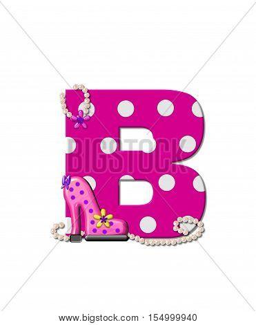 Alphabet Shoe Dive B